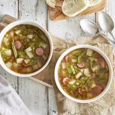 Wie bei Oma - Sauerkrautsuppe mit Hackbällchen