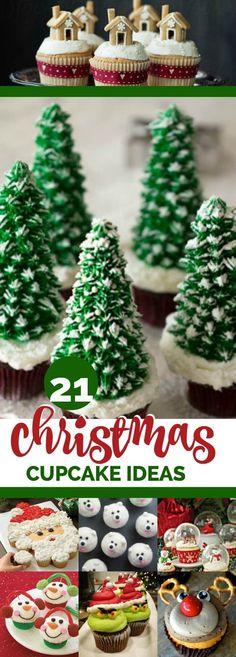 21 Creative Christmas Cupcake Ideas, Delicious and Adorable, Pin Now!