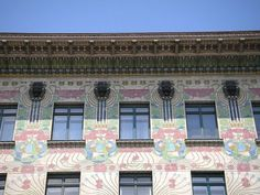 Majolikahaus by Otto Wagner