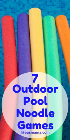 Outdoor Games For Kids Party Children Pool Noodles Ideas For 2019 Outdoor Party Games, Outdoor Games For Kids, Games For Teens, Kids Party Games, Backyard Games, Fun Games, Picnic Games For Kids, Cheap Games, Relay Games For Kids