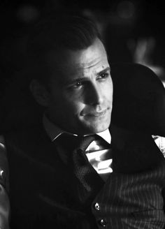 Gabriel Macht as Harvey Specter on Suits