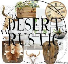 Room Inspirations   Desert Rustic   Decorate your house with the rustic desert feel.   Decorate with animal skulls   www.madewithHAPPY.com
