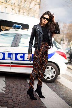 Street style Paris Fashion Week, marzo 2016 © Josefina Andrés