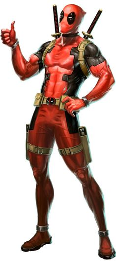 #Deadpool #Fan #Art. (Deadpool aprobes Marvel Puzzle Png) By: TheSuperiorXaviruiz. (THE * 5 * STÅR * ÅWARD * OF: * AW YEAH, IT'S MAJOR ÅWESOMENESS!!!™) [THANK U 4 PINNING!!!<·><]<©>