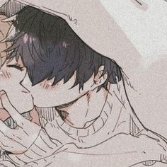 """Find and save images from the """"⚘┊Matching icons ♡"""" collection by tiramisushi 🌿 (tiramisuwu) on We Heart It, your everyday app to get lost in what you love. Anime Couples Drawings, Anime Couples Manga, Cute Anime Couples, Manga Anime, Couple Drawings, Anime Girls, Anime Love Couple, Manga Couple, Matching Profile Pictures"""