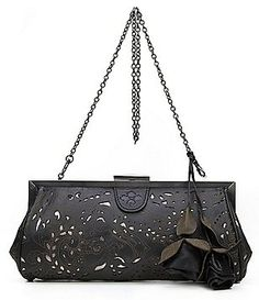 Patricia Nash Laser Lace Collection Athena Frame Clutch