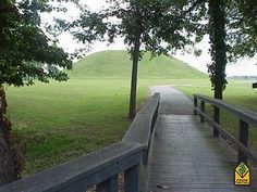 Toltec Mounds Archeological State Park near Little Rock, Arkansas. This state park is both a park and an archeological research site. It is what remains of a Native American civilization which existed here from A.D. 600 - 1150. This park is listed as a National Historic Landmark. Great place to spend a day with your family learning about our nation's rich history!
