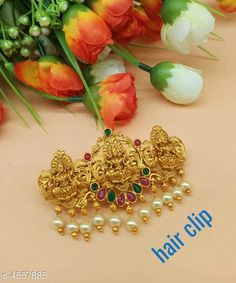 Hair Accessories Trendy Hair Clip For Women Material: Alloy Size: Free Size Description: It Has 1 Piece Hair Clip For Women  Work: Stone & Beads Country of Origin: India Sizes Available: Free Size   Catalog Rating: ★4 (2566)  Catalog Name: Trendy Hair Clip For Women Vol 12 CatalogID_659853 C72-SC1088 Code: 761-4557885-
