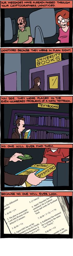 The real reason only the odd numbered questions are answered at the back of the textbooks....