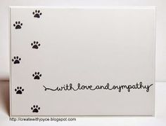 05 12 Goodbye R~ Lawn Fawn Scripty Sayings, Critters in the Dog Park Sorry Cards, Pet Sympathy Cards, Dog Cards, Get Well Cards, Animal Cards, Greeting Cards Handmade, Making Ideas, Cardmaking, Birthday Cards