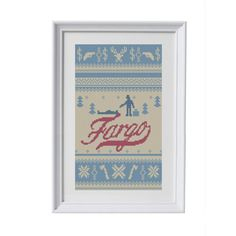 BUY 2 patterns and GET 1 FREE Fargo Mini Series by eXehandmade