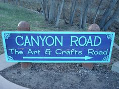 Canyon Road, Santa Fe, NM Home of many art galleries and adobe homes.