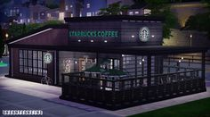 Starbucks Coffee Shop Lot (Furnished)