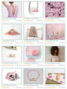 Etsy frontpage May 17. 2013