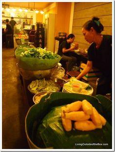 Quan An Ngon Restaurant in Ho Chi Minh City (Saigon), Vietnam