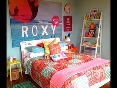 Surfer teen girl's room!