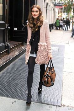 Olivia Palermo in Dior jacket. See more at www.HerStyledView.com