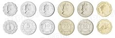 Belize,  set of 6 uncirculated coins
