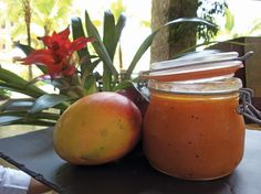 Mango jam w/ginger and vanilla - made fresh at Four Seasons Costa Rica using local mangos