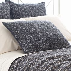 PCH Resist Floral Gray Pillow Sham from @Zinc_Door #zincdoor #pch #bedding