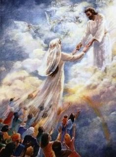 How is Lord Yeshua / Jesus Christ going to prepare His Beloved Ones. the Bride of Christ.whom He has redeemed from all nations? We, all the men, women and children who love Him as our Lord, Sav. Braut Christi, Halloween Imagem, Image Jesus, Sainte Therese De Lisieux, Saint Esprit, Jesus Christus, Bride Of Christ, Jesus Is Coming, Prophetic Art