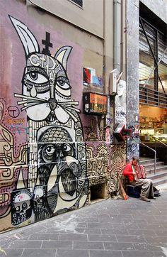 ✯ Street Art - Mural and Street Artist - Sweden ~ Photo by Hugo Röjgård ✯