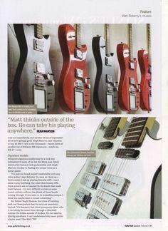 Guitar Tech VOL. February Magazine: Matt Bellamy ~ exogenesisymphony