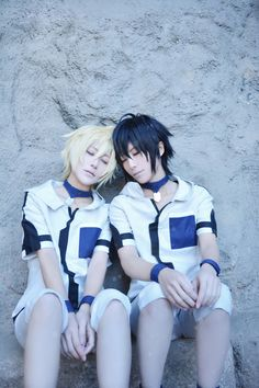 Owari no Seraph - Tama and Ataito(小蛋☆小提) Mikaera Hyakuya, Yuichiro Byakuya Cosplay Photo - Cure WorldCosplay