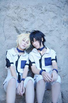 Owari no Seraph - Tama and Ataito(小蛋☆小提) Mikaera Hyakuya, Yuichiro Byakuya Cosplay Photo - Cure WorldCosplay