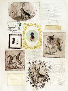 EL JARDIN DE LOS MUFFINS: Blog de Interiorismo y Decoración Vintage.: El Papel pintado con aires Vintage de Rosemary Milner