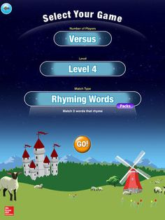 Bluster - a nice iPad app for vocab based games for El Ed