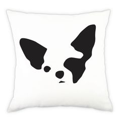 Chihuahua Dog Breed Decorative Pillow Cover  by FetchProductDesign, $28.00