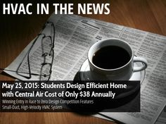 Wow - a $38 annual energy bill? The HVAC future is exciting! We like to stay up to date on HVAC trends.