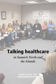 We are talking healthcare in Saanich North and the Islands. Check out my latest blog post featuring a wrap-up of our Community Dialogue. It was an excellent public discussion about the delivery of health services in our riding.