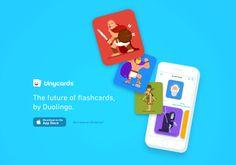 Tinycards 學習平台 Duolingo 推出免費單字卡 App,背單字長知識超好用