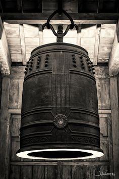 Ancient bell of Shuri-jo castle, Okinawa, Japan