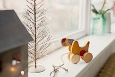 Handmade wooden toy, wood Toy Pull Dog, Wooden Toy for Toddler, Christmas gift for kids