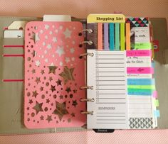 filofax domino... Maybe I'll get organized one day...!!!