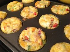 Breakfast Omelette Muffins - Make ahead, freeze, and you have a quick and healthy breakfast every day