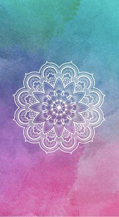 Mandala Designs in Illustrations, Patterns, Trends. Mandala Creator Online and Free Simple Tumblr Wallpaper, Tumblr Backgrounds, Cool Wallpaper, Mobile Wallpaper, Pattern Wallpaper, Wallpaper Backgrounds, Wallpaper Lockscreen, Iphone Backgrounds, Pink Wallpaper