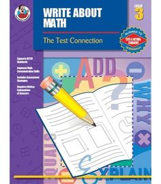 Write About Math Resource Book - Carson Dellosa Publishing Education Supplies  #CDWishList