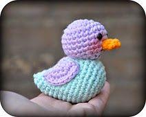 Free Crochet Pattern: Ducky the Little Duckling