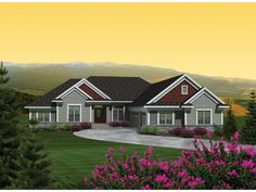 ePlans Traditional House Plan – Multi-Gabled Traditional Ranch –2614 Square Feet and 4 Bedrooms from ePlans – House Plan Code HWEPL76375