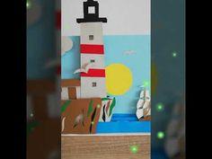 Rama 3D - Peisaj - YouTube Youtube, Make It Yourself, Handmade, Hand Made, Youtubers, Youtube Movies, Handarbeit