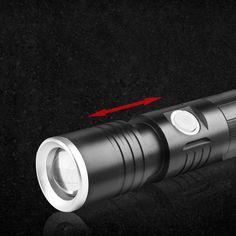 XANES S1 230LM 3 Modes Multifunction Waterproof Zoomable Magnetic Base LED Flashlight & Screwdriver Sale - Banggood.com Light Flashlight, Holiday Lights, Led Strip, Strip Lighting, Aluminium Alloy, Magnets, Bulb, Metal, Linear Lighting