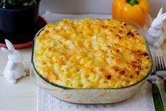 Mac&Cheese to połączenie makaronu kolanka z serem żółtym Cheddar i Gouda oraz śmietaną. Macaroni Pasta, Baked Macaroni, Pasta Bake, How To Make Macaroni, How To Cook Pasta, Cheddar Cheese, Macaroni And Cheese, Fried Peppers, Pasta Al Dente