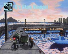 S's blue Hawaii, S's blue, Honolulu, art | GALLERY