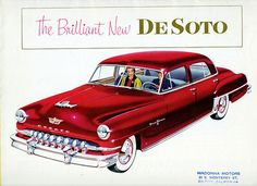 1952 DeSoto Fire Dome 8 Four Door Sedan