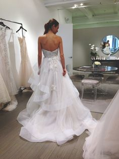 Monique Lhuillier Wedding Dresses Truth About Having A Baby The Knotty Bride