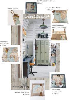 wereldse tienerkamer accessoires, ontworpen en handgemaakt door thuis met Moon. www.thuismetmoon.nl
